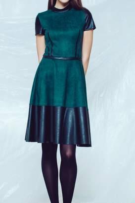 Andrea Martiny Fit & Flare Dress
