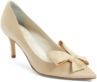 Something Bleu Caitlin Bow Pointy Toe Pump