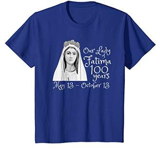 Our Lady of Fatima 100 Year Anniversary T-Shirt Catholic Tee