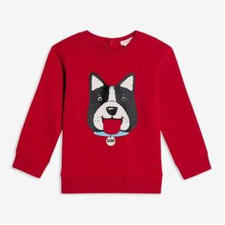 Joe Fresh Baby Boys' Graphic Popover, Red (Size 3-6)