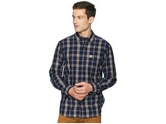 Carhartt Essential Plaid Button Down Long Sleeve Shirt