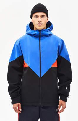 adidas Premiere Riding Blue & Black Snow Jacket