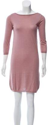 Roberto Collina Mini Cashmere Dress