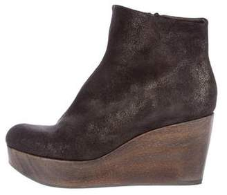 Coclico Suede Wedge Boots