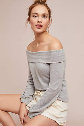 Anama Sonja Off-The-Shoulder Pullover