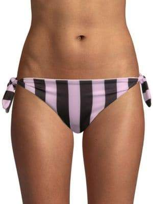 The Jane Striped Bikini Bottom