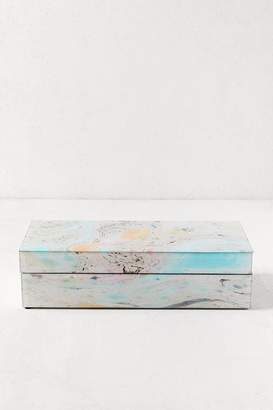 Urban Outfitters Large Marbled Jewelry Box