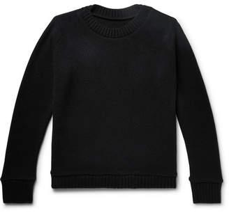 The Elder Statesman Intarsia Cashmere Sweater