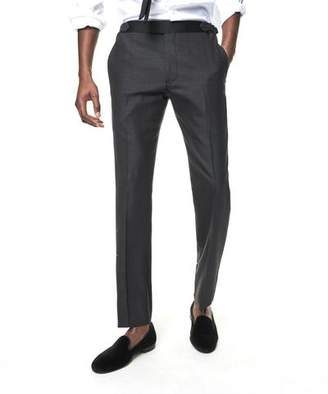 Todd Snyder Black Label Sutton Tuxedo Pant in Grey