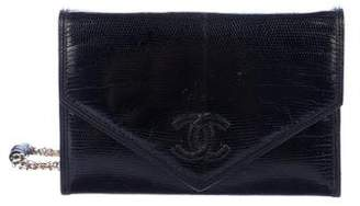 Chanel Lizard Flap Bag