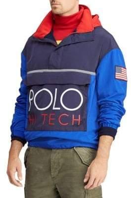 Polo Ralph Lauren Hi Tech Color Block Pullover Jacket
