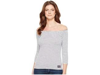 U.S. Polo Assn. Off Shoulder Tee Women's T Shirt