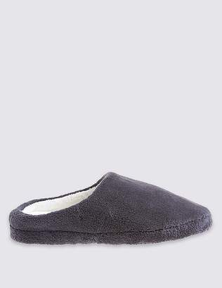 Marks and Spencer Micro Towelling Mule Slippers