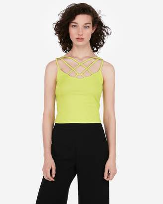 Express One Eleven Strappy Front Cami