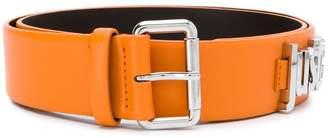 Just Cavalli logo plaque belt
