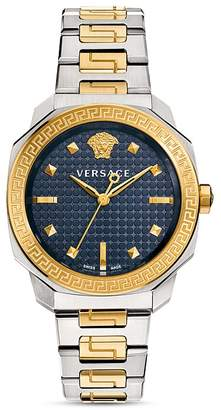 Versace Two-Tone Dylos Watch, 35mm $1,595 thestylecure.com