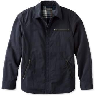 L.L. Bean L.L.Bean Signature Nylon-Blend Lined Shirt Jacket, Slim Fit