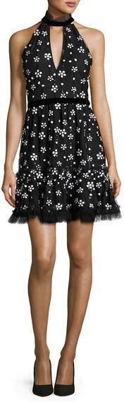 AlexisAlexis Poppy Sequined Cocktail Dress, Black