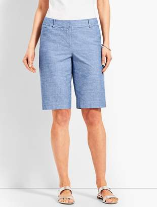 "Talbots 10 1/2"" Chambray Perfect Short"