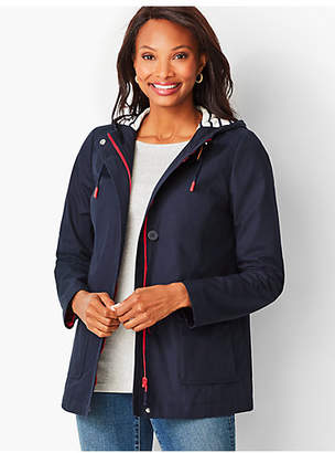 Talbots Cotton-Canvas Anorak