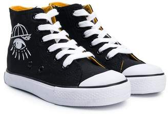 Kenzo high-top canvas sneakers