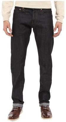 The Unbranded Brand Tapered in 11 OZ Indigo Stretch Selvedge Men's Jeans