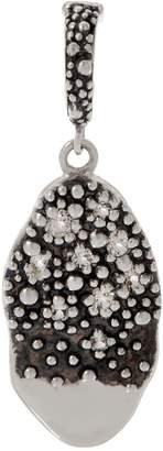 Michael Dawkins Sterling Silver Starry Night Gemstone Charm