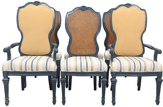 One Kings Lane Vintage French Provincial Dining Chairs - Set of 6