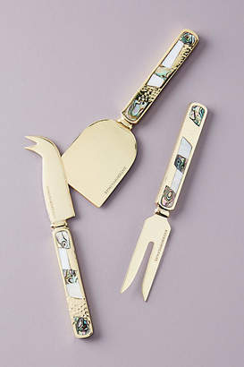 Anthropologie Mina Cheese Knives, Set of 3