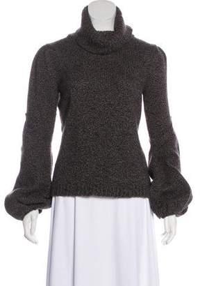 Oscar de la Renta Cashmere Turtleneck Sweater