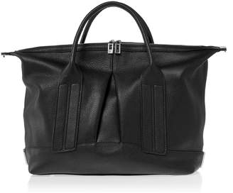 Joanna Maxham Cast Away Black Leather Satchel