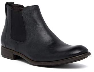 John Varvatos Low Chelsea Leather Boot