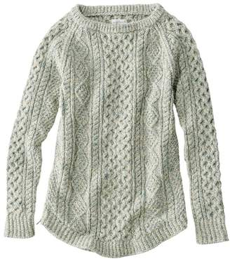 L.L. Bean L.L.Bean Women's Signature Cotton Fisherman Tunic Sweater