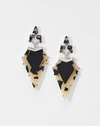Ted Baker MIRLENA Arrow crystal earrings
