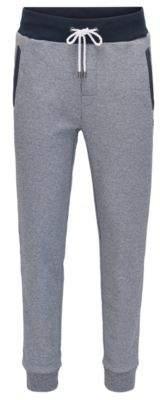 BOSS Hugo Melange French Terry Sweatpant Nautical Pants XXL Grey