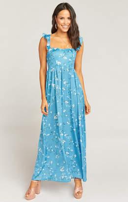 Show Me Your Mumu Lil June Maxi Dress ~ Meadow Blooms Floral