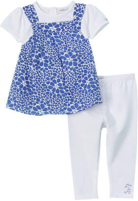 Absorba Girls' 2Pc Tunic & Legging Set