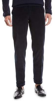 Brioni Men's Pinwale Corduroy Dress Pants