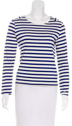 Solid & Striped Long Sleeve Top