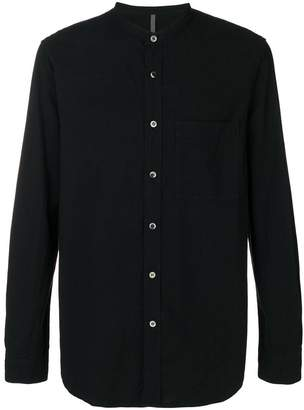 Attachment mandarin collar shirt