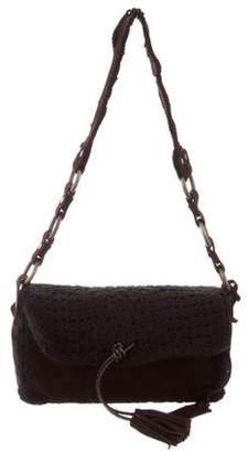 Dolce & Gabbana Whipstitch-Trimmed Shoulder Bag