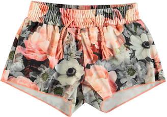 Molo Nicci Floral-Print Swim Shorts, Size 3T-12
