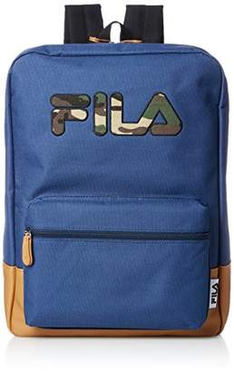 399dba2bcd0b Fila (フィラ) - [フィラ] バックパック 迷彩 ビッグロゴ スクエア型 デイパック B4