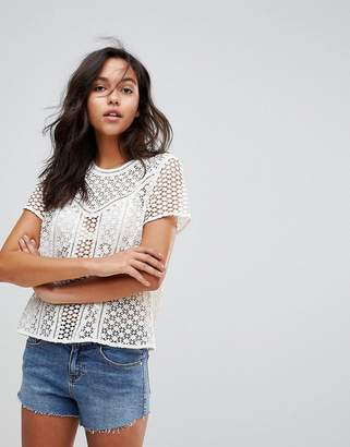 Abercrombie & Fitch Laser Cut Top