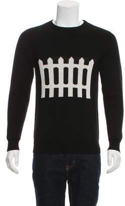 J.W.Anderson Embroidered Merino Wool Sweater