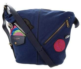Marc Jacobs Convertible Canvas Crossbody Sling Bag