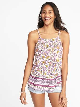 Old Navy Lightweight Printed Swing Cami for Women