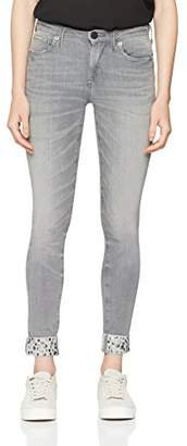 True Religion Women's Halle Studs Skinny Jeans, (Grey Denim 1218), 26W x 32L
