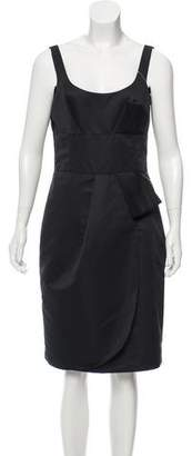 Armani Collezioni Sleeveless Knee-Length Dress w/ Tags