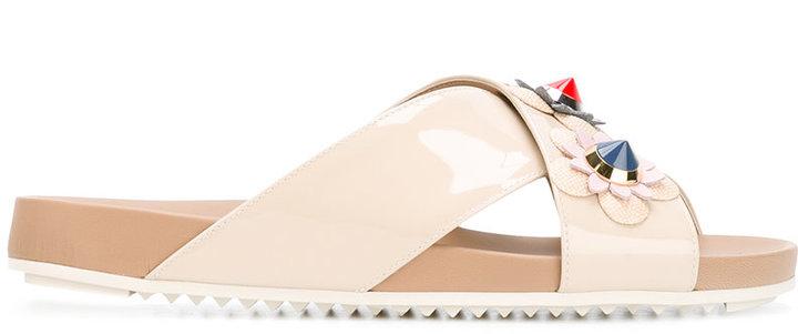 Fendi Flowerland sandals